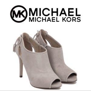 New! Michael Kors Jenning Bootie Cement